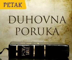 duhovna poruka petak